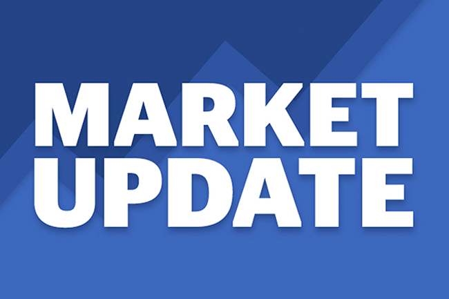 Market update blue