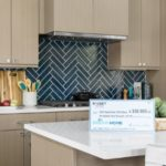 HGTV Dream Home 2020 - Kitchen with Prize Check from Rocket Mortgage