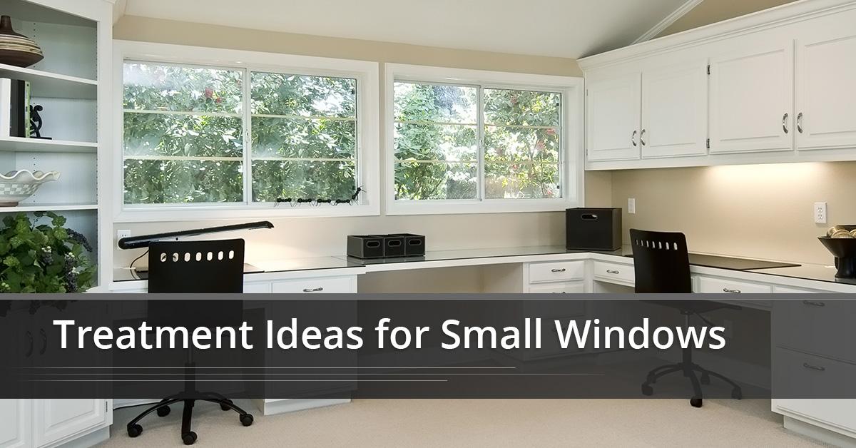 treatment ideas for small windows