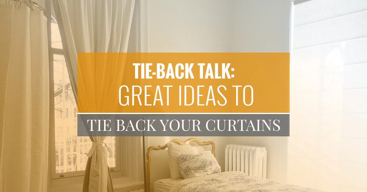 great ideas to tie back your curtains