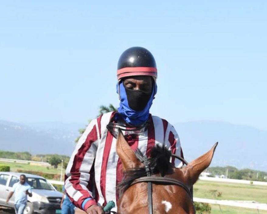 Jockey Devon A Thomas