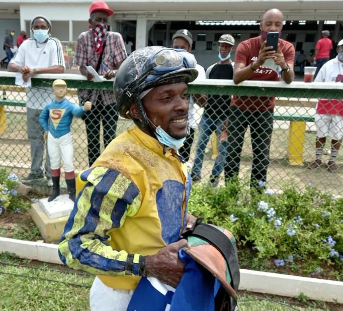 Jockey Chalrick Budhai
