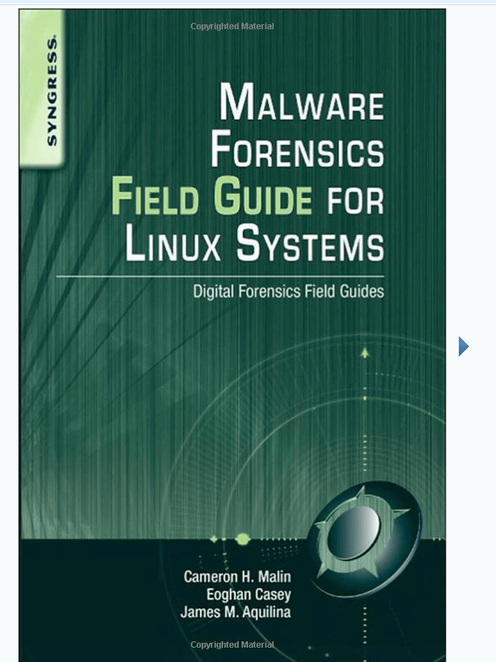 Malware-Forensics-Field-Guide-for-Linux-Systems.