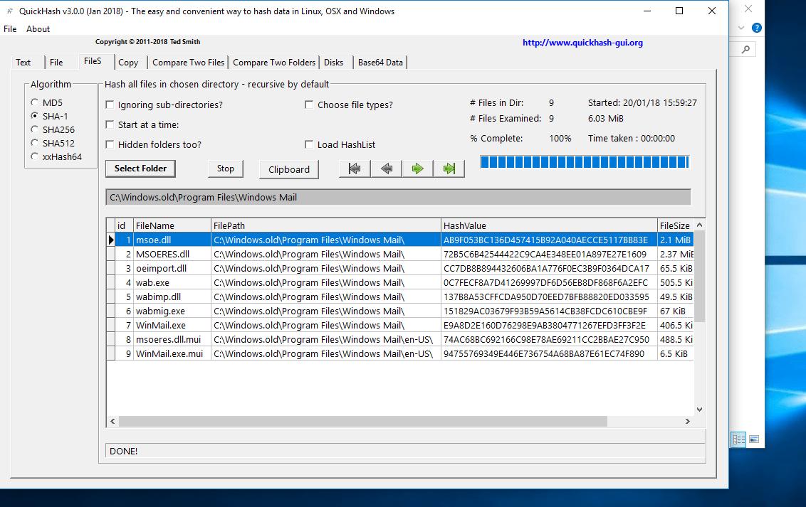 QuickHash v3 0 0 Is Out Now! | QuickHash GUI