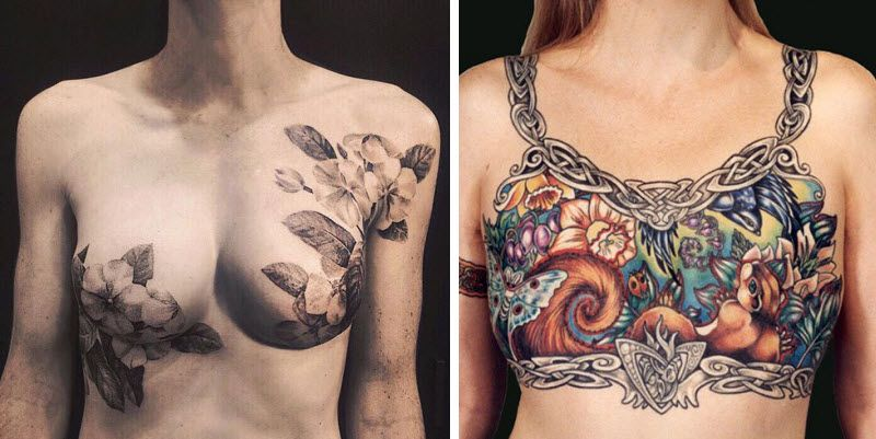 אחת הדרכים האפקטיביות להתמודד עם סרטן שד היא ניתוח, אבל הצעד הזה טומן בחובו צלקות פיזיות ונפשיות כאחד. הנשים שלפניכם בחרו להתמודד עם האובדן בדרך אומנותית ומרגשת במיוחד...