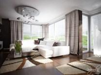 انسجام الضوء الطبيعي مع الوان الغرفة المريحة
