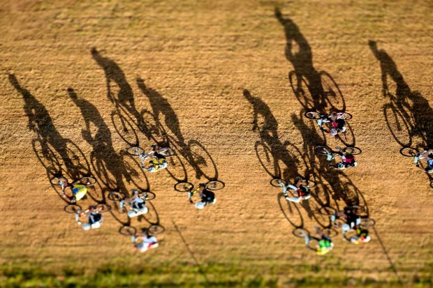 Shadows of cycles