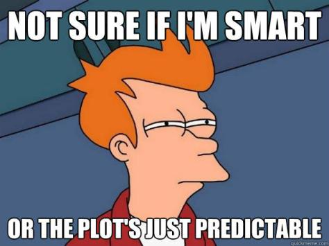Image result for predictable plot cartoon