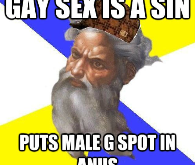 Gay Sex Is A Sin Puts Male G Spot In Anus Gay Sex Is A