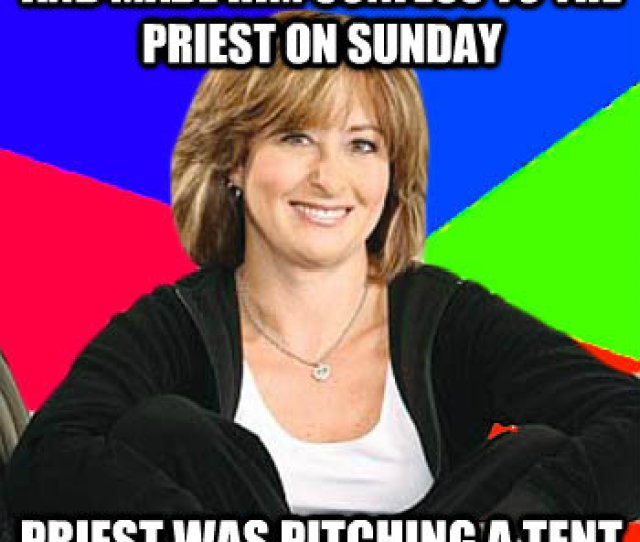 Caught My Son Masturbating And Made Him Confess To The Priest On Sunday Priest Was Pitching A Tent All Throughout The Service