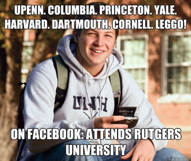 Yale Harvard Dartmouth Cornell Leggo On Facebook Attends Rutgers University