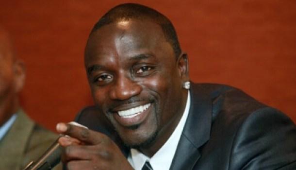 Akon set up the charity Akon Lighting Africa