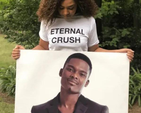 Simphiwe Ngema eternal crush Dumi Masilela