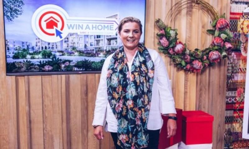 Win a home winner Yvette Blignaut