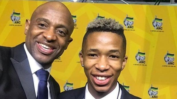 Arthur Mafokate and Lasizwe photo