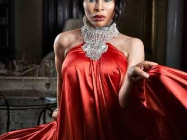 Khanyi Mbau the red room movie