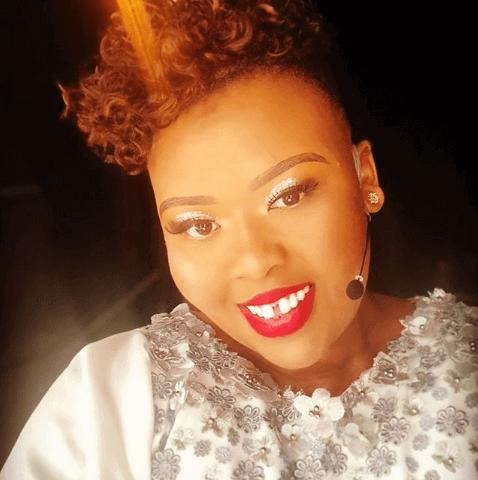 Anele Mdoda M-Net's Oscars red carpet