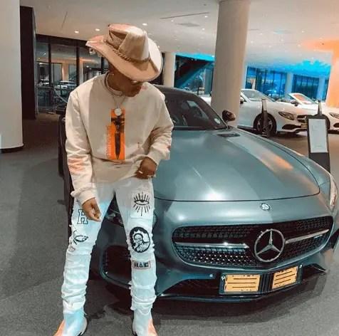 Rapper Nasty C car