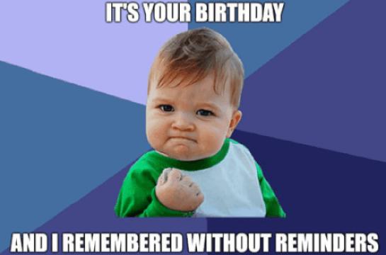 birthday memes funny
