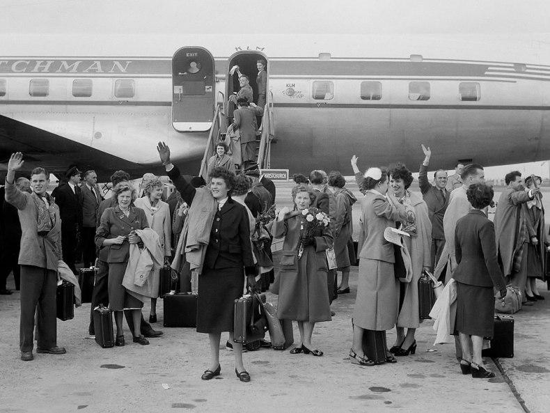 Bridal Flight KLM