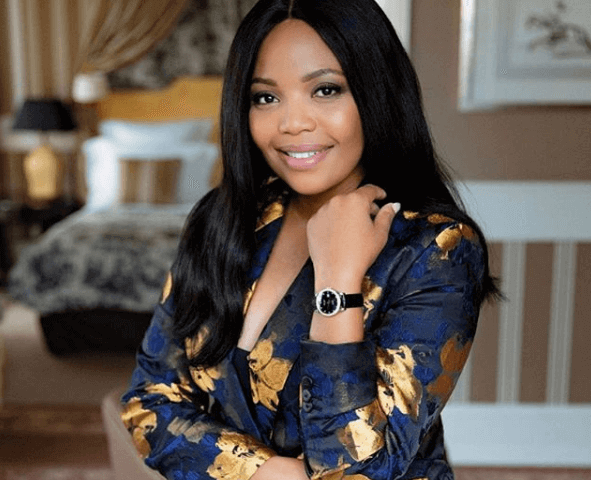 Terry Pheto Wins BUFF Award in London
