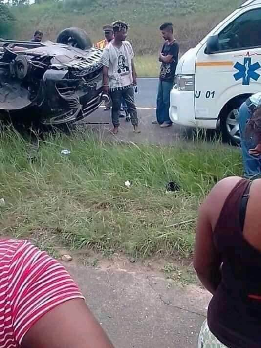 Mlindo the Vocalist car accident