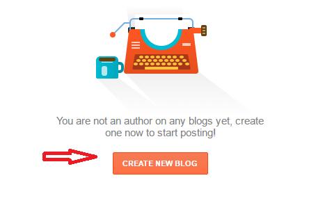 Create a blogger.com blog