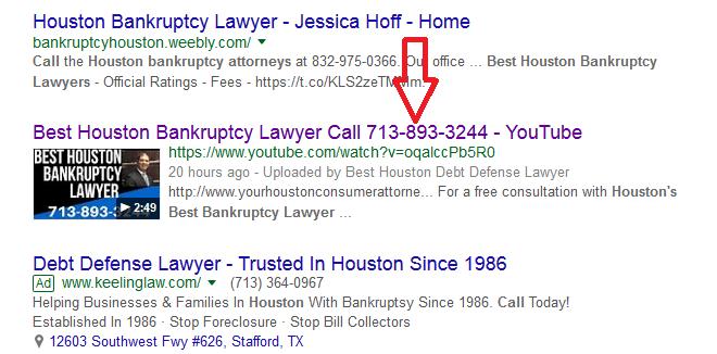 lawyer seo Best Houston Bankruptcy Lawyer
