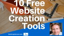 Free Website Creation Tools