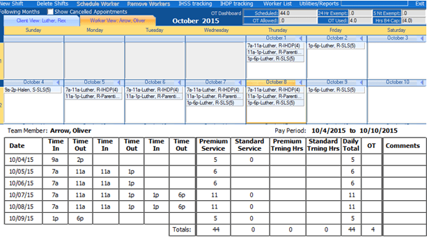 overtime time sheet quicksolveplus sls ils scheduling and