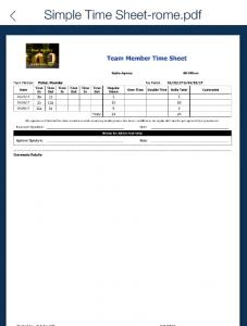 employee document storage QSP Mobile timesheets