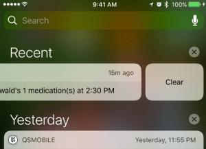 clear medication reminder_qsp medication tracking app