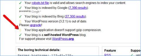 wordpress compression