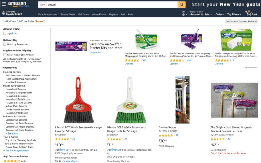 Amazon Platform Marketing - Broom