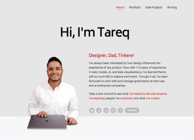 modern red grey website colors