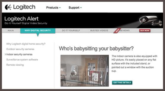Logitech Babysitting Ad