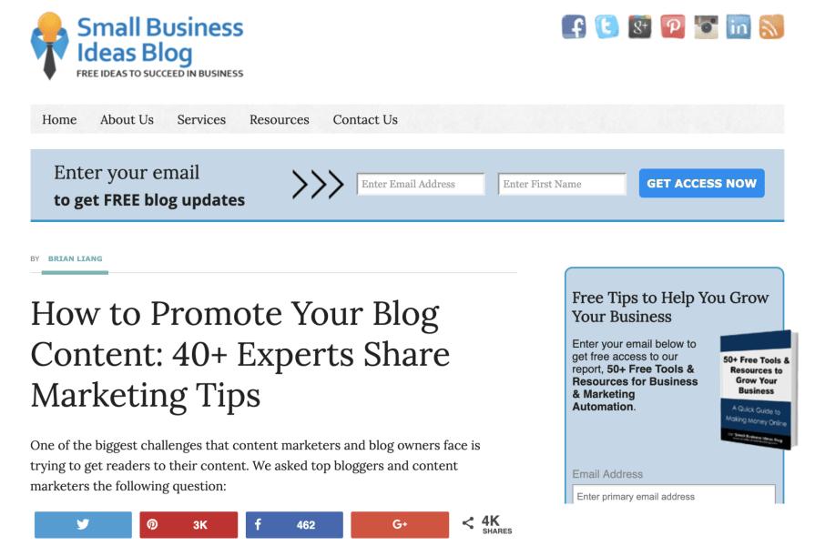 Small Business Ideas Blog