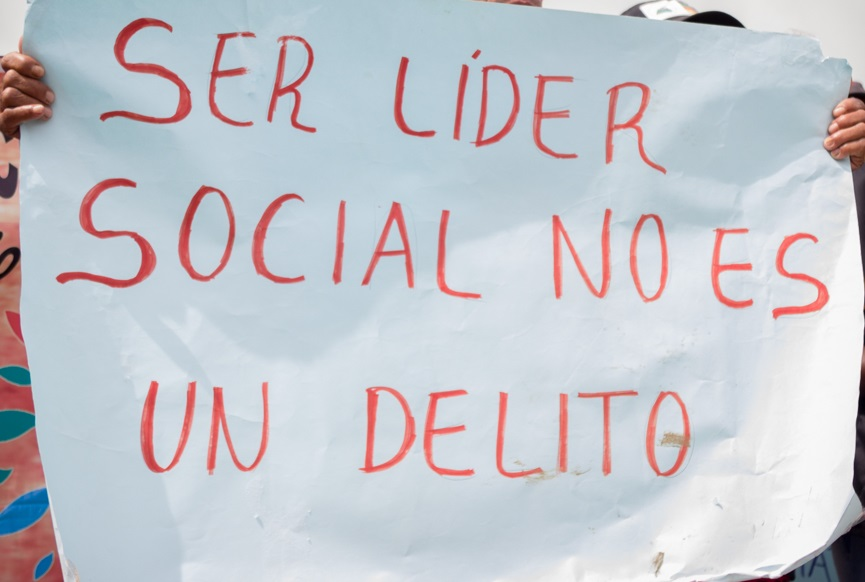 Violado Derecho a la vida de líderes sociales