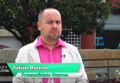 Jaque Electoral Julián Osorno, precandidato alcaldía Guarne