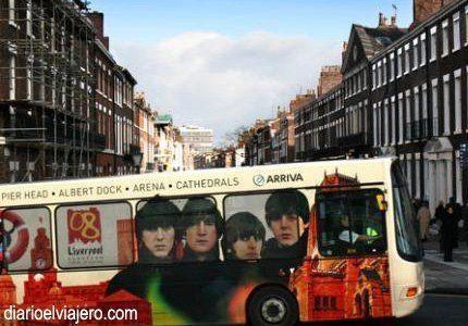 Liverpool, la ciudad de los Beatles.