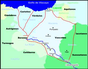 Pueblos prerromanos vascos - Foto: wukipedia