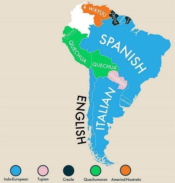Segundas lenguas en Sudamérica
