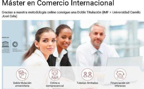 Becas Máster en Comercio Internacional