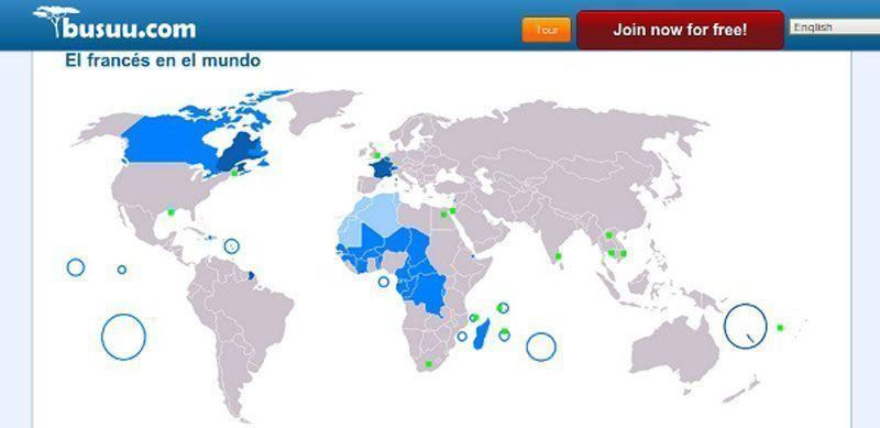 Países donde se habla francés
