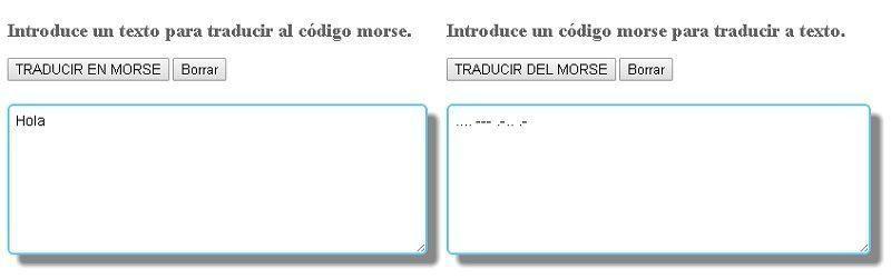 Traductor de Morse Online