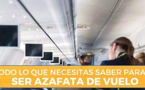 Requisitos para ser azafata de vuelo