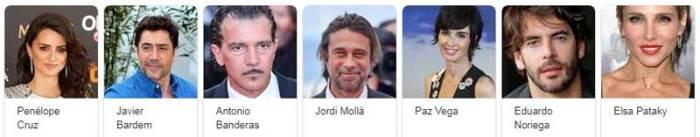 Actores españoles Hollywood