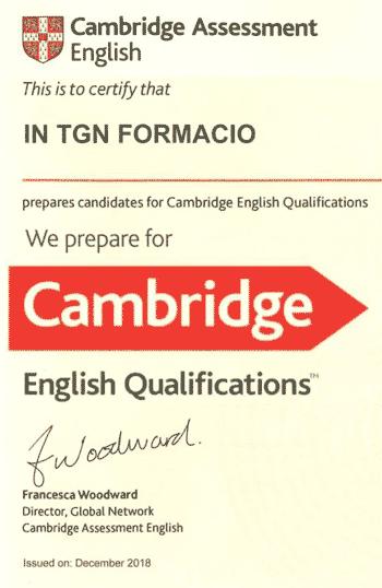 Academias certificadas Cambridge