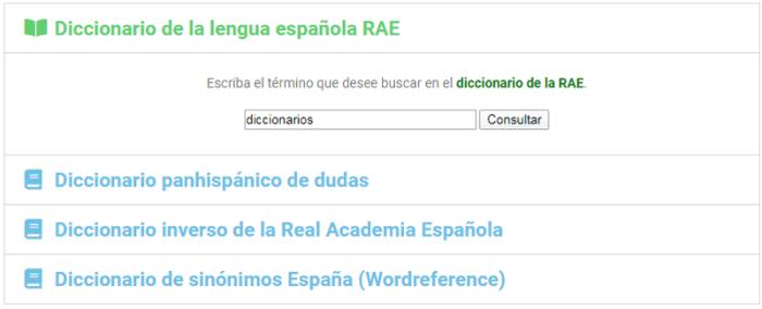Diccionarios gratuitos