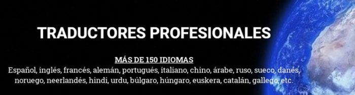 Presupuestos traductores profesionales